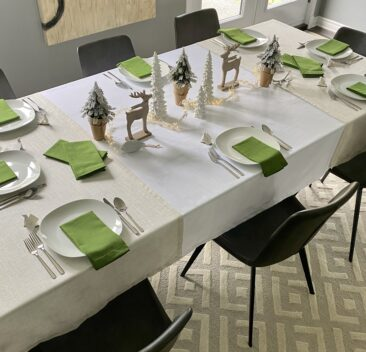 decor-de-table-de-noel-vert-green-christmas-table-decoration-35set-deco