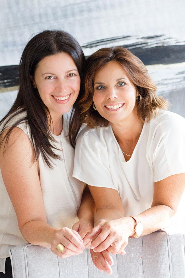 Justine Desgens et Stéphanie Daoust