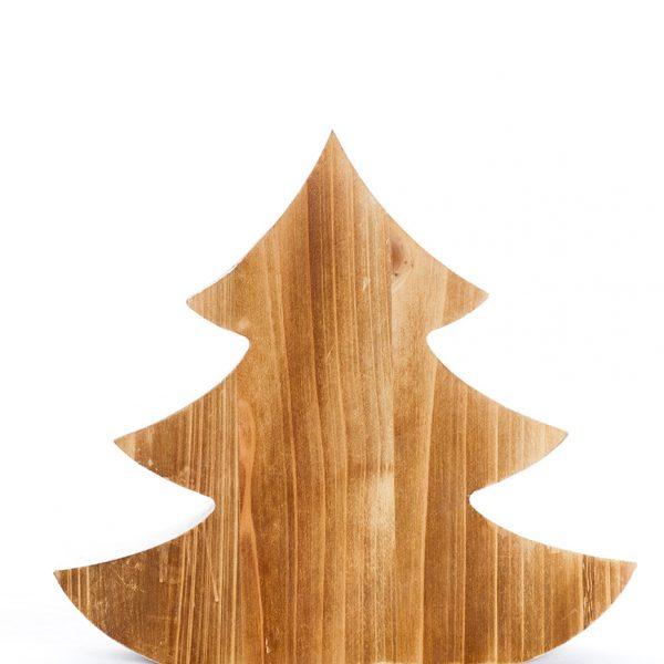 Sapin en bois naturel accessoire décoratif