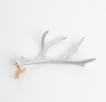 Bois de cerf argente-Deer antlers in silver