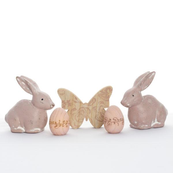 Doux printemps animaux décoratifs de table