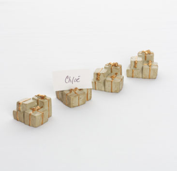 Marque-place de boite cadeau