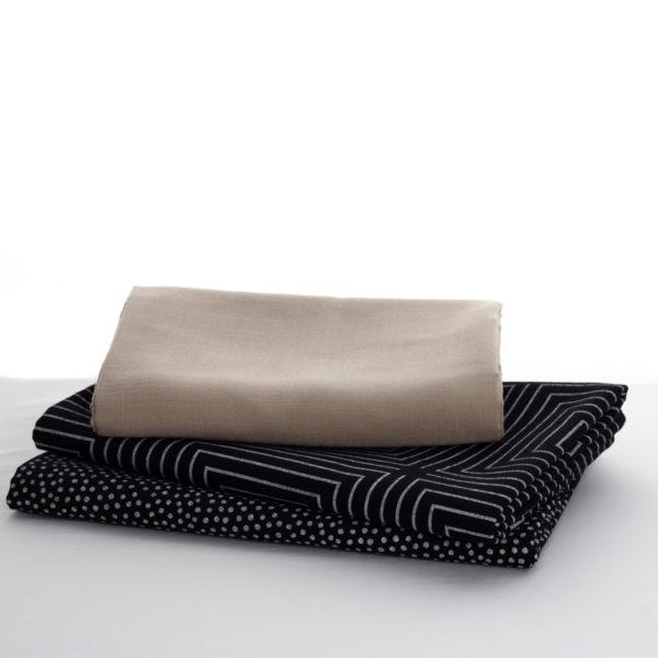 nappes et extensions beige noire et diamant blanc