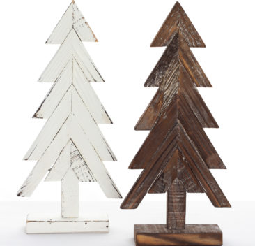 Sapins-décoratifs-en-faux-fini-bois-decoratif-three-fake-finish-35set-deco