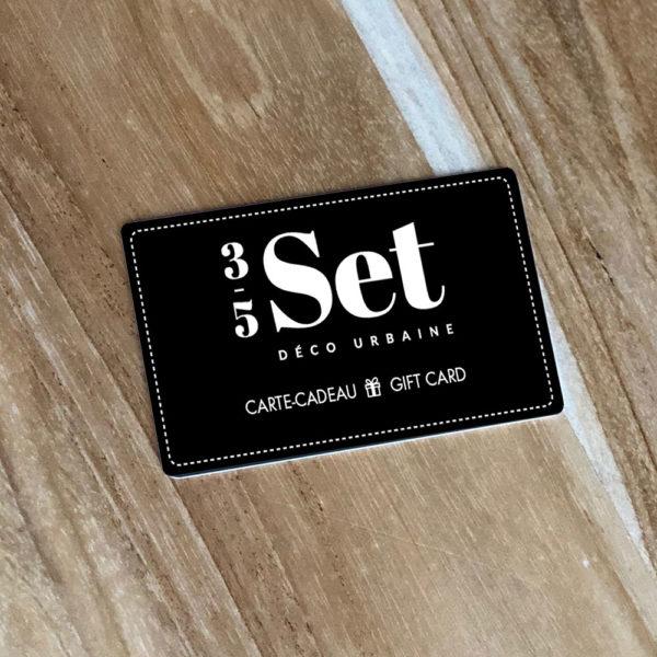 Carte Cadeau 35set