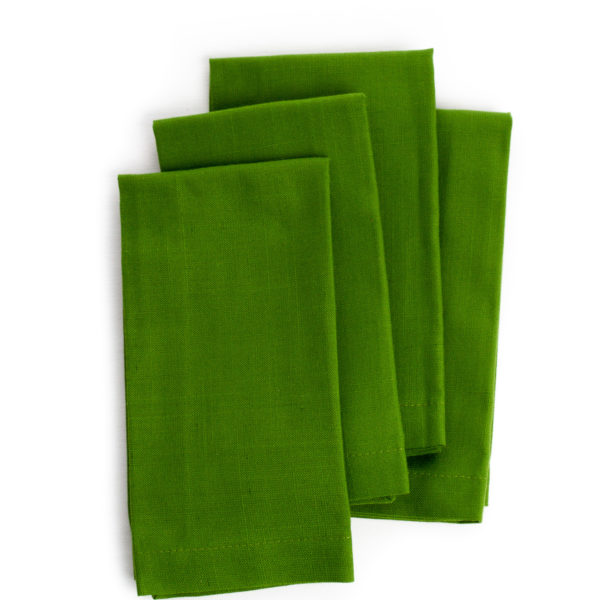 Serviette-de-table-verte-green-table-napkin-35set