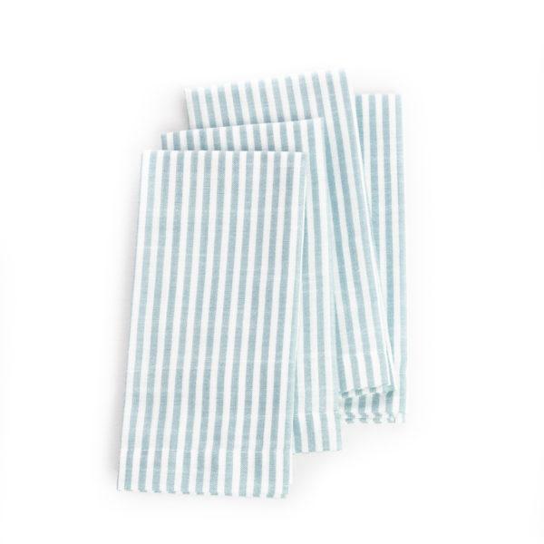 serviette-table-rayure-blanche-bleu-escapade-nautique-napkin-white-bleu-nautical-escape
