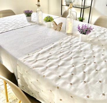 nappe-extension-pois-pot-de-fleur-decoratif-papillion-lumiere-doux-printemps-tablecloth-extension-flower-pot-decoration-butterfly-light-sweet-spring-35set-deco