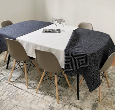 nappe-grise-extension-imprimé-réversible-pois-grey-tablecloth-reversible-dot-print-extension-35set-deco