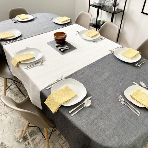 nappe-extension-serviette-table-ensemble-decoratif-matinée-ete-tablecloth-extension-napkin-set-decoration-summer-sunrise-35set-deco